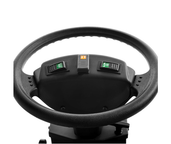 Controls on the steering wheel