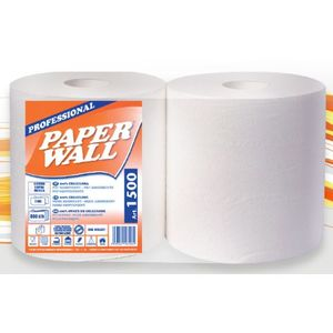 2 Bobine di carta in pura cellulosa 2 veli