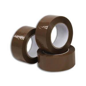 Nastro adesivo in acrilico, trasparente, marrone o bianco (confezione da 36 pezzi)