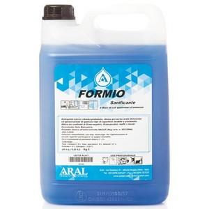 Igienizzante a base di sali quaternari d'ammonio FORMIO 5 litri (4 pezzi)