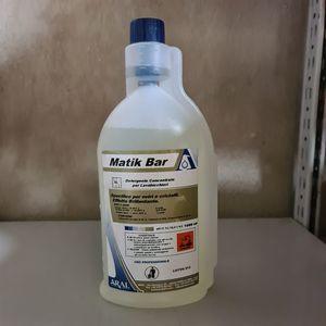Detergente brillantante per lavabar MATIK BAR 1 litro (6 pezzi)