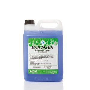 Brillantante a pH neutro sanitizzante BRILL MATIK 5 Kg (4 pezzi)