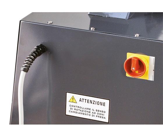 Aspiratore industriale solidi liquidi trifase t22 380v 3