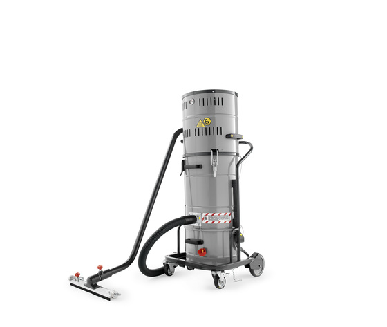 Aspiratore industriale antideflagrante atex monofase power indust ax 20 sp z22 1