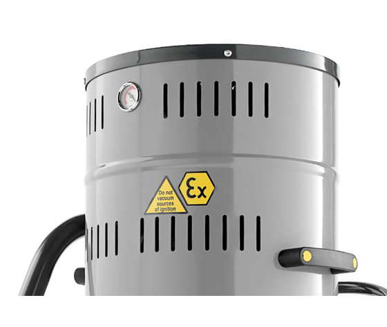 Aspiratore industriale antideflagrante atex monofase power indust ax 20 sp z22 4
