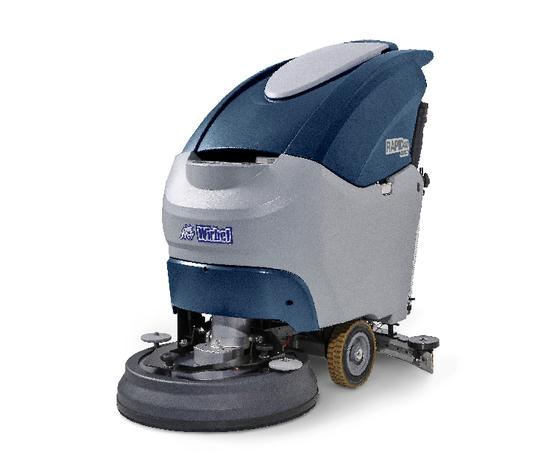 Lavasciuga per pavimenti con operatore a terra rapid 40