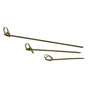 Stecco bamboo con nodo cm 15- imballo 100 pezzi