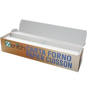 Rotolo carta da forno bisiliconata altezza cm 40 per 50 metri