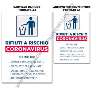 SEGNALAZIONE RACCOLTA RIFIUTI RISCHIO COVID-19