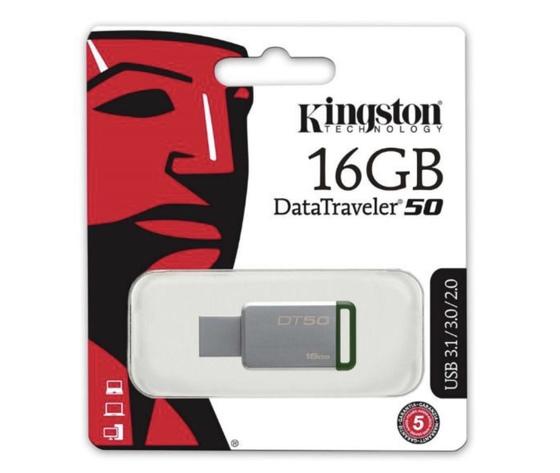 KingStone Pen-Drive da 16 GB (DATA TRAVEL 50)