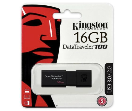 KingStone Pen-Drive16GB (DATETRAVEL 100)