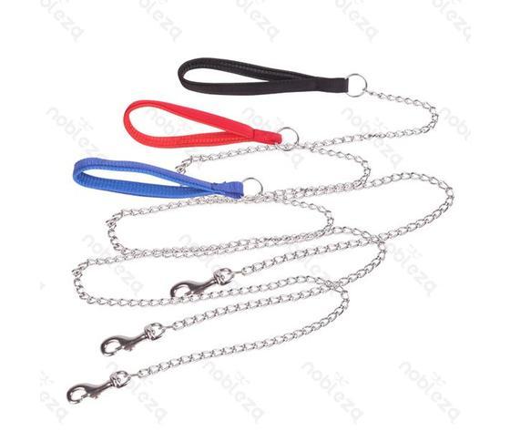 Guinzaglio a catena con manico (120x2cm)