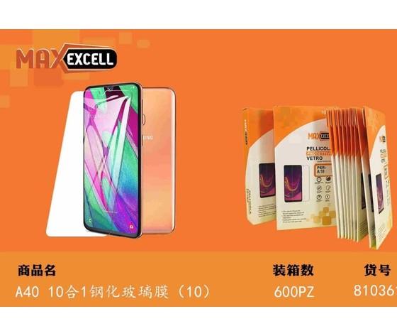 Vetro temperato per Samsung A40 (3x)