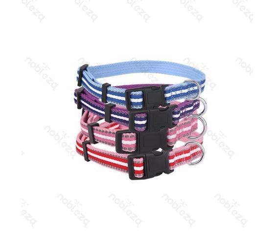 Collare riflettente in fibra di nylon (2x35-50 cm)