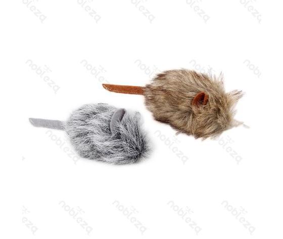 Giocattolo topo in tessuto