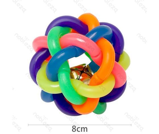 Giocattolo pallina colorata per animali