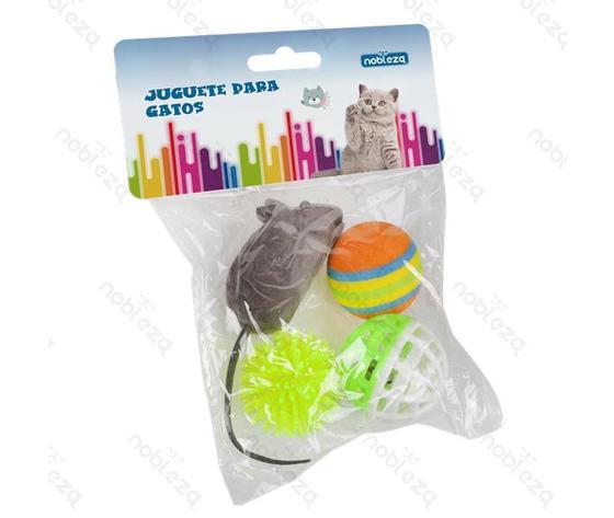 Giocattolo palline e topo per animali