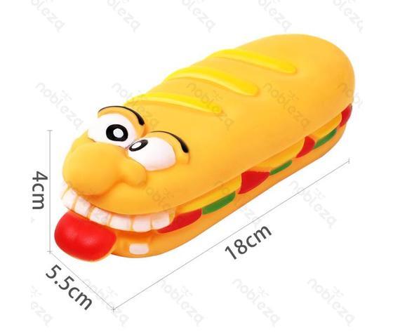 Giocattolo panino per animali