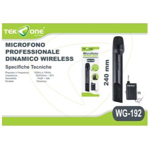 Microfono professionale wireless