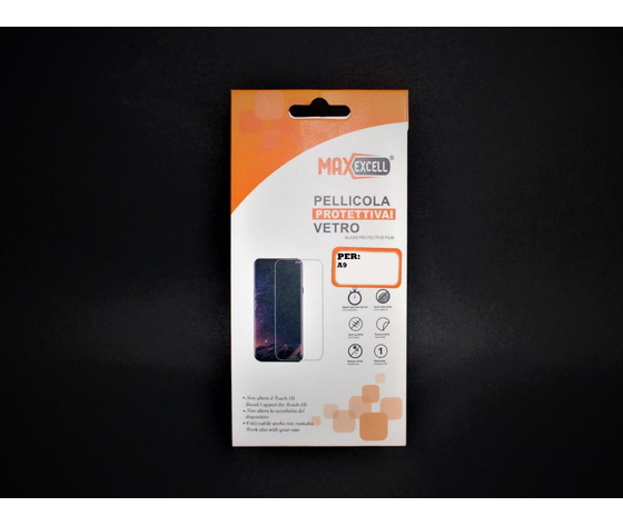 Vetro temperato per Samsung Galaxy A9 (3x)