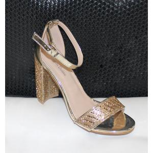 Scarpe eleganti con strass