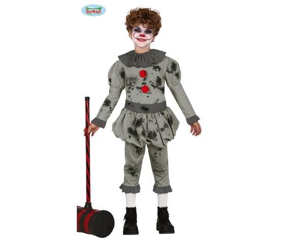 Vestito da clown per ragazzo