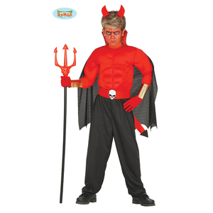 Vestito diavoletto bambino