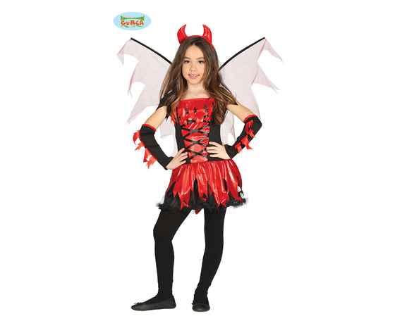 Vestito diavoletto bambina