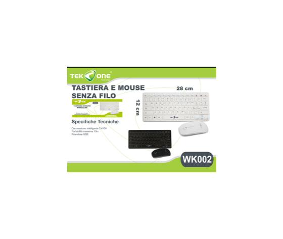 Tastiera e mouse senza fili