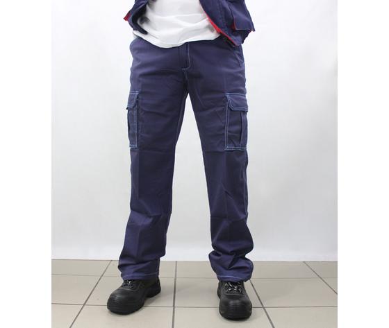 Pantaloni da lavoro blu