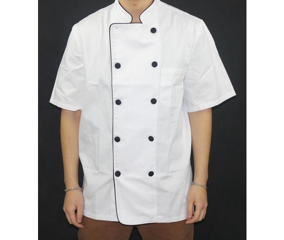 Giacca da cuoco bianca manica corta