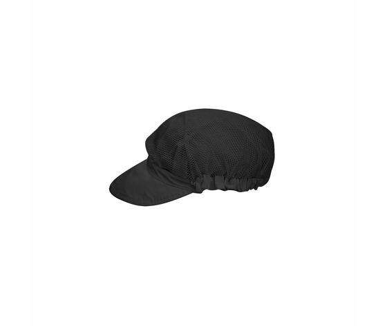 Cappello in retina con visiera