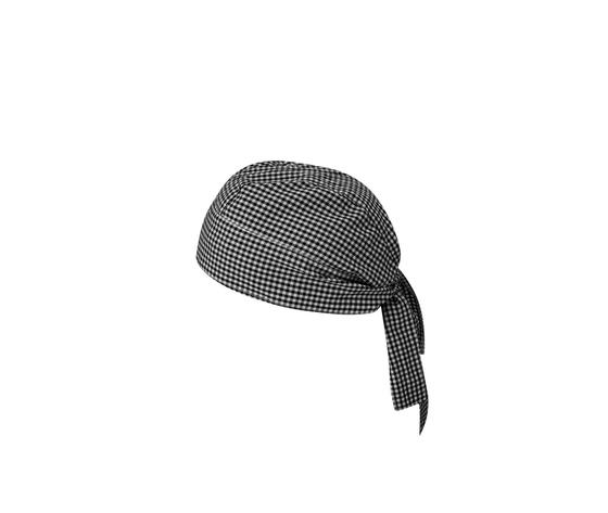 Cappello/Cuffia da cuoco a quadretti