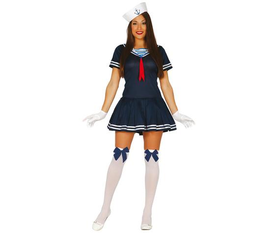 Vestito da marinaio femminile