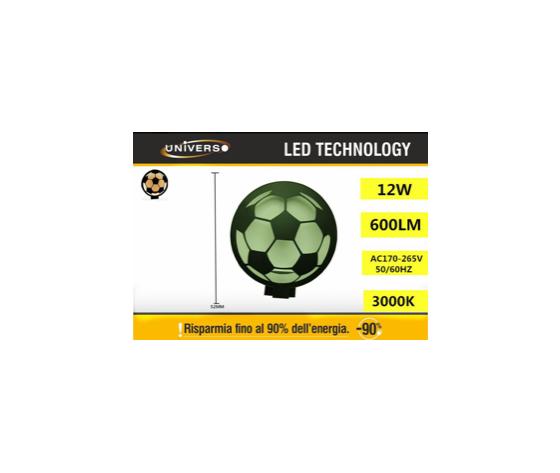 Applique Led pallone (3000k)