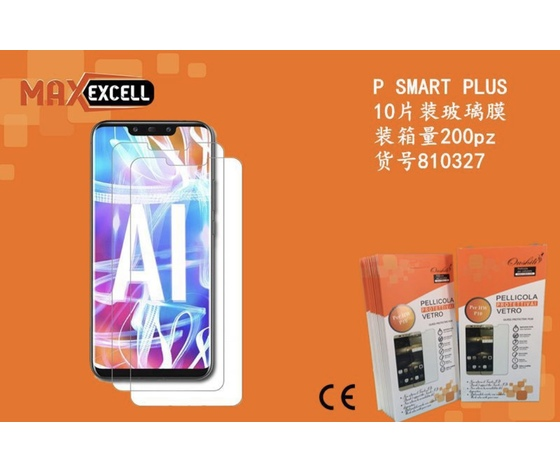 Vetro temperato per Huawei P Smart Plus (3x)