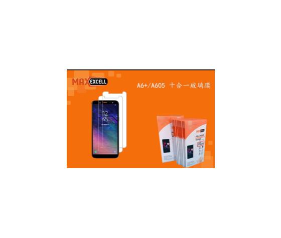 Vetro temperato per Samsung Galaxy A6+ (3x)
