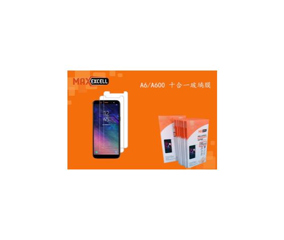 Vetro temperato per Samsung Galaxy A6 (3x)