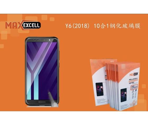 Vetro temperato per Huawei Y6 2018 (3x)
