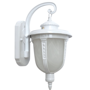 Lanterna da muro bianco