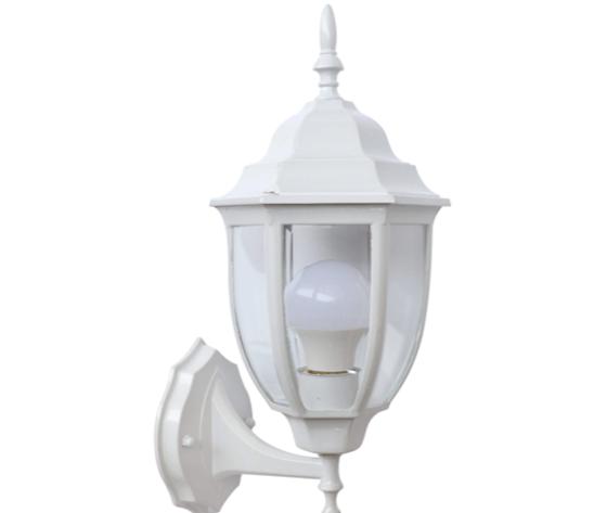 Lanterna da muro piccolo bianco