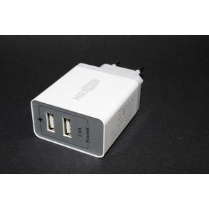 Caricatore USB doppia entrata (2.4A)