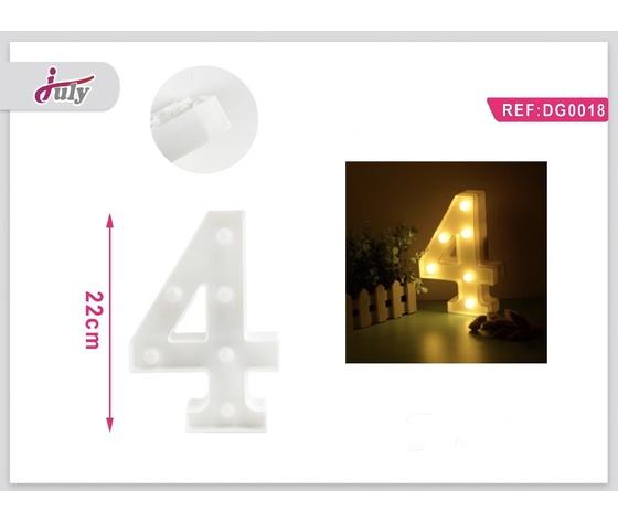 LETTERA A LED 4