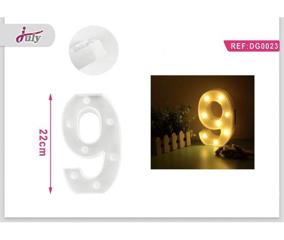 LETTERA A LED 9
