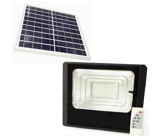Faretto Led da 10W con pannello solare
