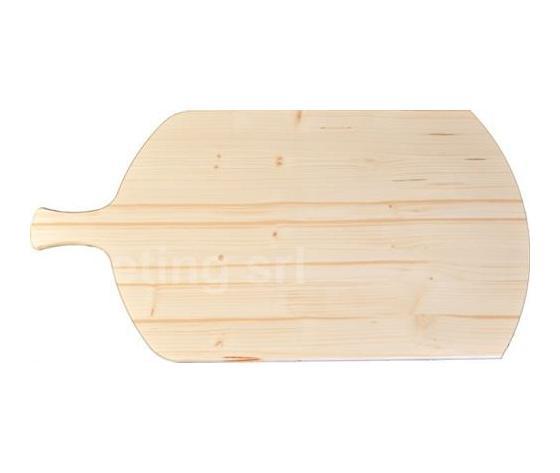 Tagliere in legno per pizza con manico (62cm)