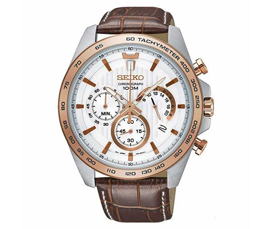 Orologio bianco da uomo Seiko Neo Sport SSB306P1