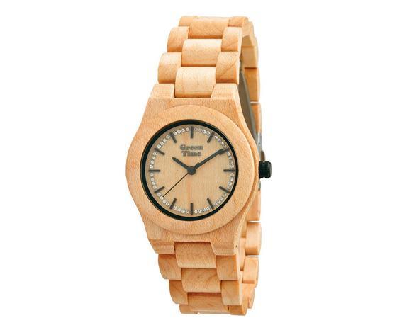 Orologio Green Time By Zzero ZW053A Codice Articolo: ZW053A Tipologia: Donna Materiale: Legno Acero  Dimensione della Cassa: 34 mm Orologio in legno solo tempo