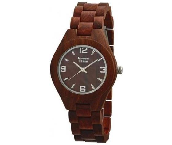 orologio green time sandalo rosso solo tempo