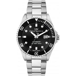 Philip Watch Caribe 42mm auto black dial
